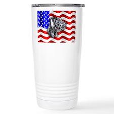 Blue UC Patriot Dane Travel Mug