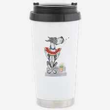 Great Dane Spit! Melon MANTLE Travel Mug
