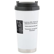 Unique Sherlock holmes Stainless Steel Travel Mug