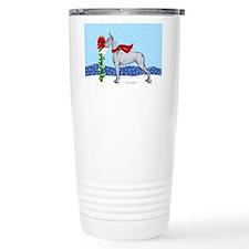 Great Dane Blue Mail Travel Mug