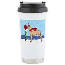 Great Dane Fawn Mail Travel Mug