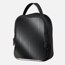 Cute Carbon fiber Neoprene Lunch Bag