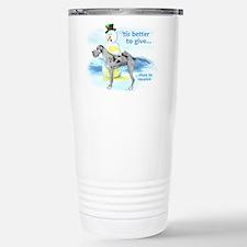 Great Dane Giving Merle UC Travel Mug