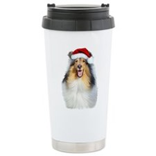 santacolliewhite.jpg Travel Coffee Mug