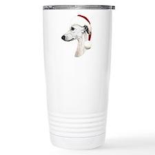 santawhippetwttns.png Travel Mug