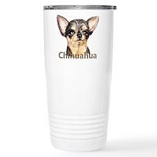 Chihuahua Black & Tan Travel Coffee Mug