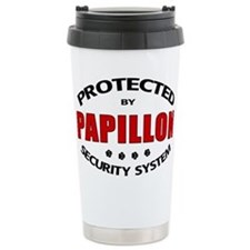 Papillon Security Travel Coffee Mug