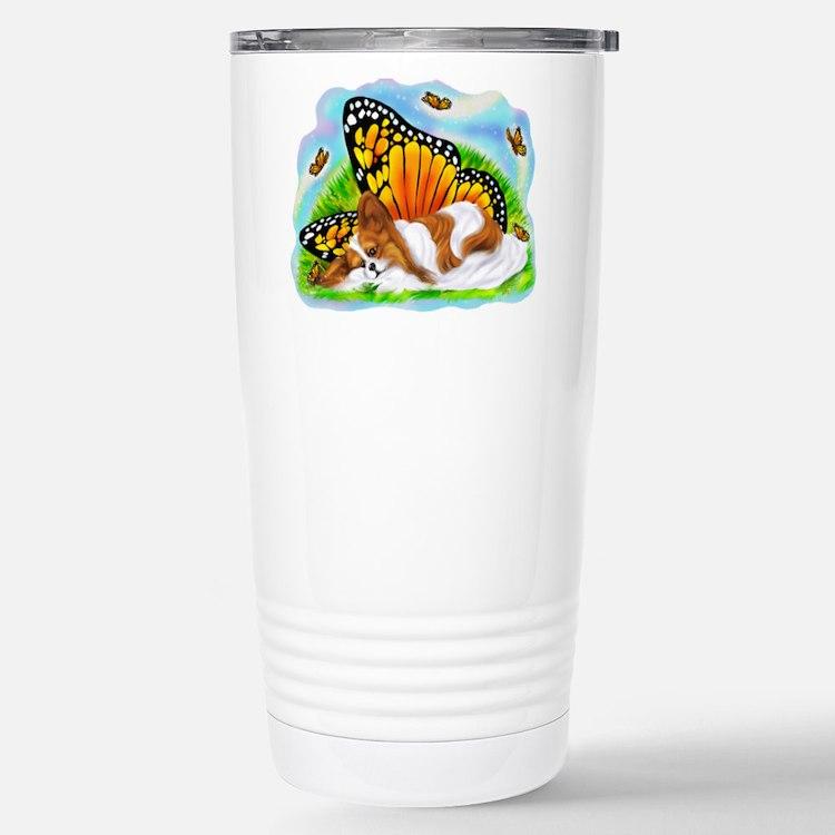 Papillon Mystical Monarch Travel Mug