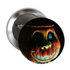 Halloween Pumpkin Button
