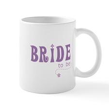 Bride to Be Purple Small Mug