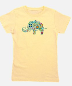 Cool Elephant Girl's Tee