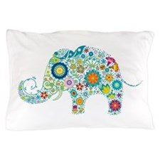 Cute Elephant Pillow Case