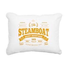 Steamboat Vintage Rectangular Canvas Pillow