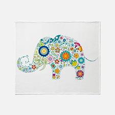 Cool Cute elephant Throw Blanket