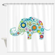 Cool Elephant Shower Curtain