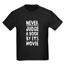 never judge a book by movie T-Shirt