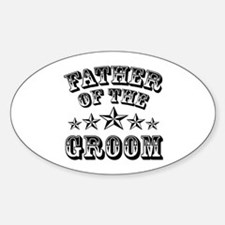Cool Father Of The Groom Wedding Favor Decal