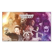 Guardians of the Galaxy Grainy Decal