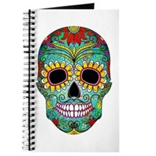 Cute Sugar skull Journal