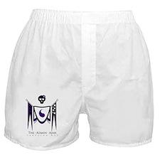 Admin Ajah with White Boxer Shorts