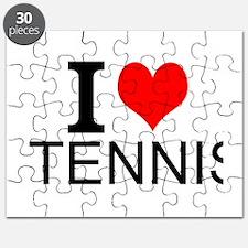 I Love Tennis Puzzle
