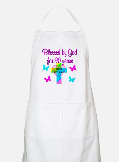 CHRISTIAN 90TH Apron