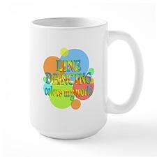 Line Dancing Colors My World Mug