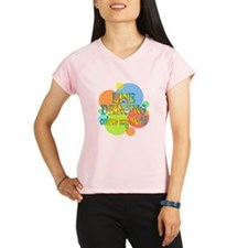 Line Dancing Colors My Wor Performance Dry T-Shirt