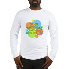 Line Dancing Colors My World Long Sleeve T-Shirt