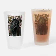 Friesian Sparkles Drinking Glass