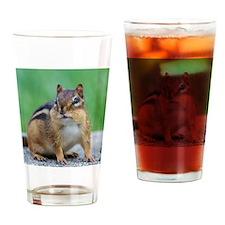 Unique Chipmunk lover Drinking Glass