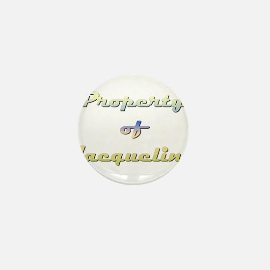 Property Of Jacqueline Female Mini Button