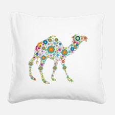 Cute Camel Square Canvas Pillow