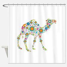 Cute Camel Shower Curtain