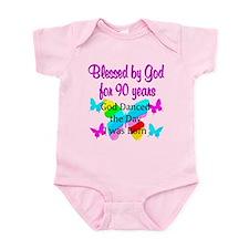 90TH GODS LOVE Infant Bodysuit