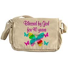 90TH GODS LOVE Messenger Bag