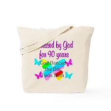 90TH GODS LOVE Tote Bag
