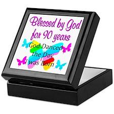 90TH GODS LOVE Keepsake Box