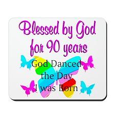 90TH GODS LOVE Mousepad