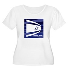 Support Israel Plus Size T-Shirt