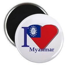 I love Myanmar Magnet