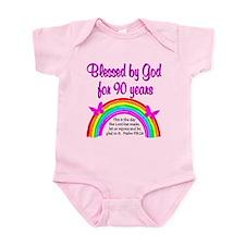 PRECIOUS 90TH Infant Bodysuit
