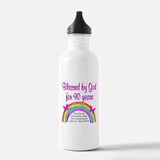 PRECIOUS 90TH Water Bottle