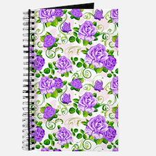 Cute Purple rose Journal
