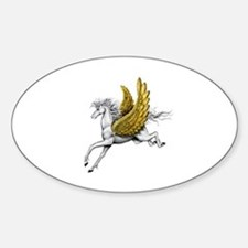 Pegasus Oval Decal
