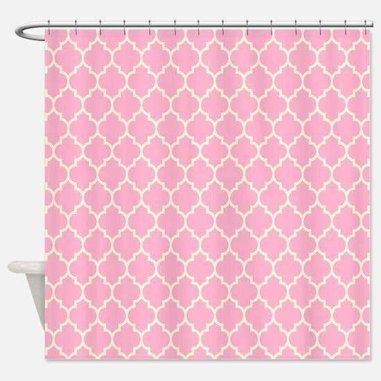 Unique Light pink Shower Curtain