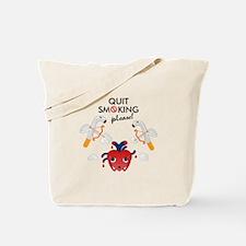Quit smoking Tote Bag