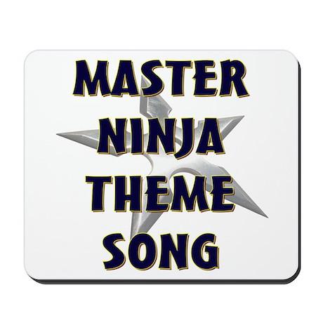 Master Ninja Mousepad