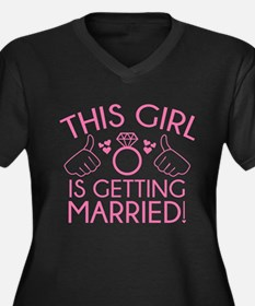 This Girl Is Getting Married Plus Size T-Shirt