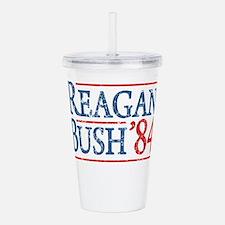 Cute Reagan Acrylic Double-wall Tumbler